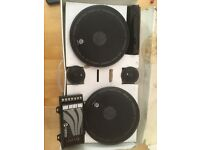 Rainbow speakers and blaupunkt 600w amp
