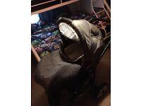 Pram, push chair and infant car seat