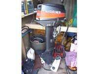 25 HP Electric Start Mariner Outboard Engine