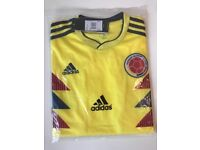 Colombia 2018 World Cup short all sizes new with tags
