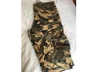 "Men's three quarter length Camouflage Shorts Jackamo, 34"" waist and 30"" long"