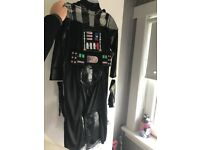 Kids brand new darth Vader Disney store costume