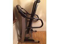 Treadmill - barley used - brilliant condition £150