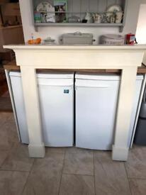 Fire surround - painted