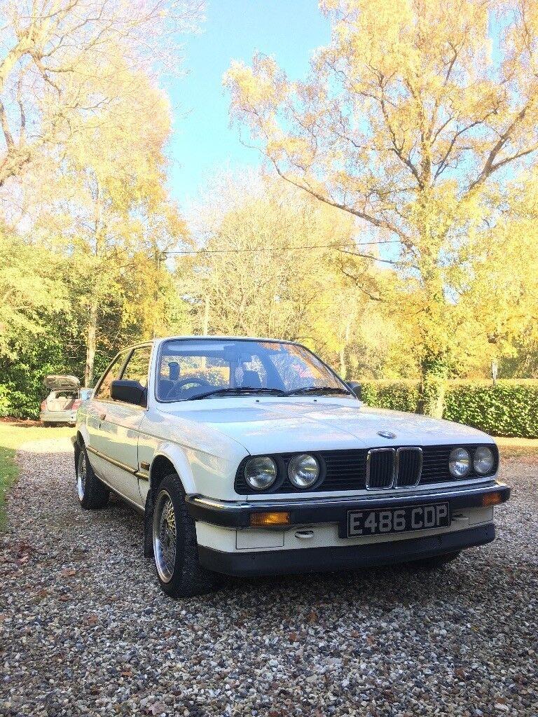 E30 BMW Coupe WHITE 316 M10
