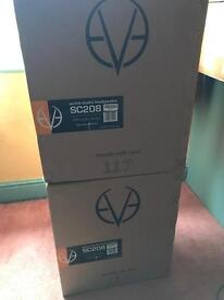EVE SC208 Monitor Speakers. Boxed in Perfect Condition