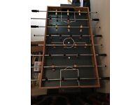 Multi purpose fuzball/pool table