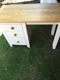 Pine small dresser table