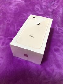 Apple iPhone 8 64GB Gold factory unlocked brand new in box warranty proof of receipt for sale