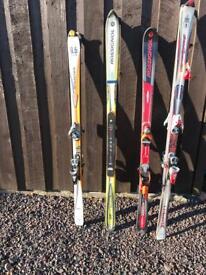 Rosignol Skis Various Sets