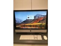 "Excellent Condition Apple iMac 27"" i5 2.7ghz Quad Core, 8gb Ram, 1tb Hard Drive, Radeon, Boxed"
