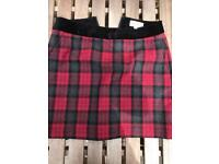 Jack Will Chequered party skirt