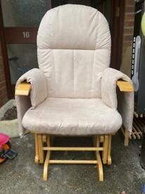 Slider nursing chair