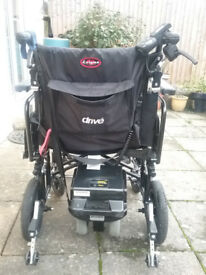Electric wheelchair (extra large)