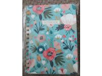 Brand new floral notebook for sale
