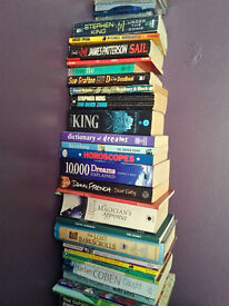 Over 100 books all good to great condition - £10 the lot - can split - good for boot jumble sale