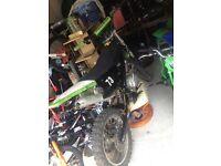 Motorcross home made bike 125cc