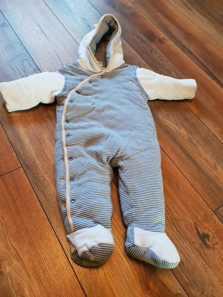 22736a99fe58 6-9 month old boys snow suit