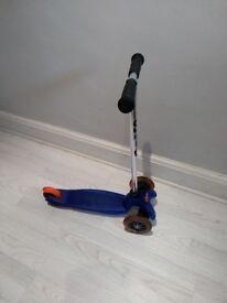 Mini micro scooter. Blue Age 3-5 yrs.