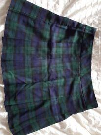 Size 12 Tartan Skirt