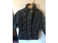 Barbour girls quilted jacket