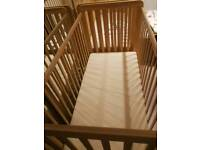 One cot and mattress for sale