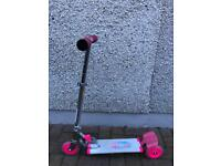 Girls Scooter with LED lights