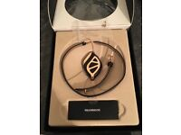 Bellabeat rose gold fitness band or necklace, used a couple of times but still brand new.