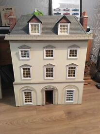 Large Dolls House , Decorated and Lit