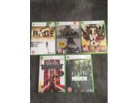 5 Xbox360 games like new