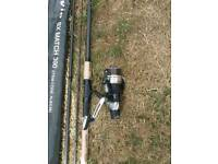 Shimano alivio bx match 390 rod and reel set