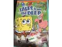 Sponge Bob DVD - Tales From The Deep