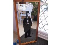 Full length Charlie Chaplin mirror