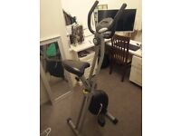 Folding exercise bike in good condition. £40. Pickup only