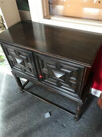 Goth style cabinet