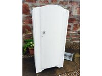 Beautiful vintage shabby chic wardrobe. Just like the Lion, the witch and the wardrobe!