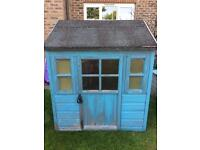 Wooden playhouse Wendy house play shed