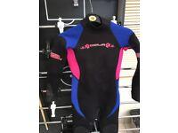 Sola wet suit , child's size s