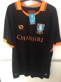 Sheffield wednesday away shirt signed