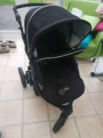 Britax B-Smart three wheels pushchair