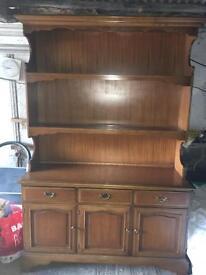 Solid wood Welsh dresser