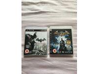 Batman Arkham Asylum/City both for £10
