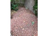 Red chip stones (used)