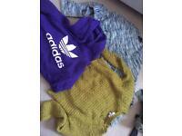 Jumper/hoodie clothes bundle