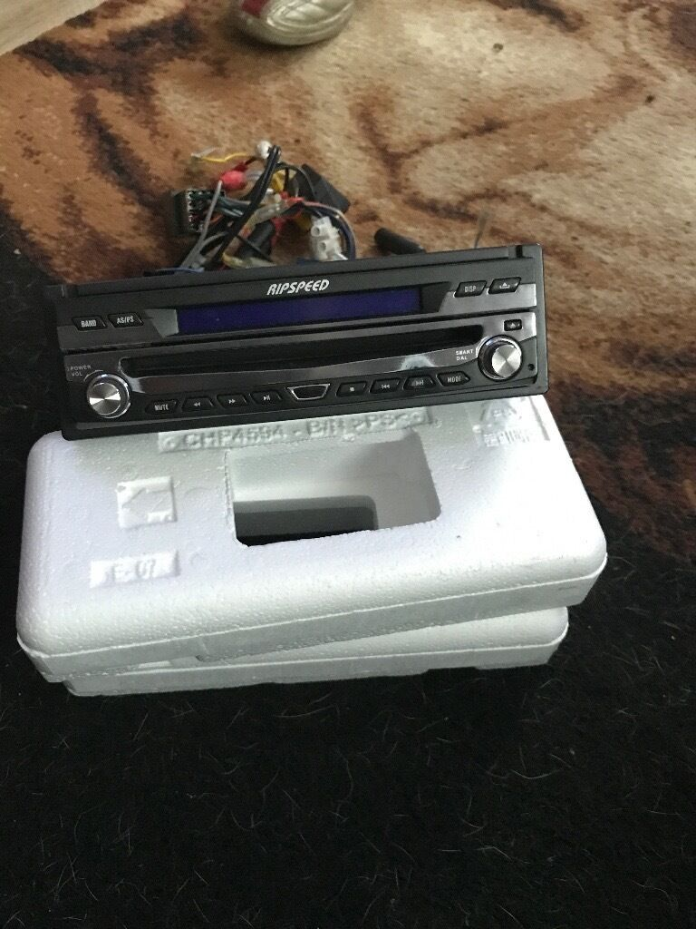Ripspeed cd/DVD stereoin Radstock, SomersetGumtree - In good condition only reason for selling is got a new one £60 message me for more info 07713155540