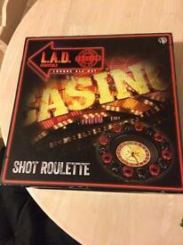 Shot Roulette & Drinking Games Book (NEW)