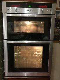 Neff U16E74N0GB Series 5 Electric Built In Double Oven