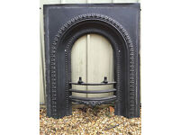 Lovely Cast Iron Fire Surround