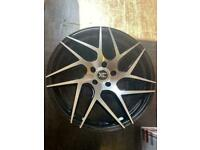 "AUDI MERCEDES 19"" 5x112 A B C E S CLASS AUDI A3 A4 A5 A6 A7 A8 S3 S4 S5 S6 RS3 RS4 RS5 AMG C63 E63"