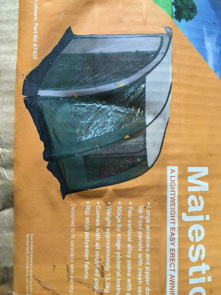 Porch SOLD double awning Pyramid Majestic 260 brand New ...
